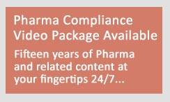 Archive video package pharma congress compliance